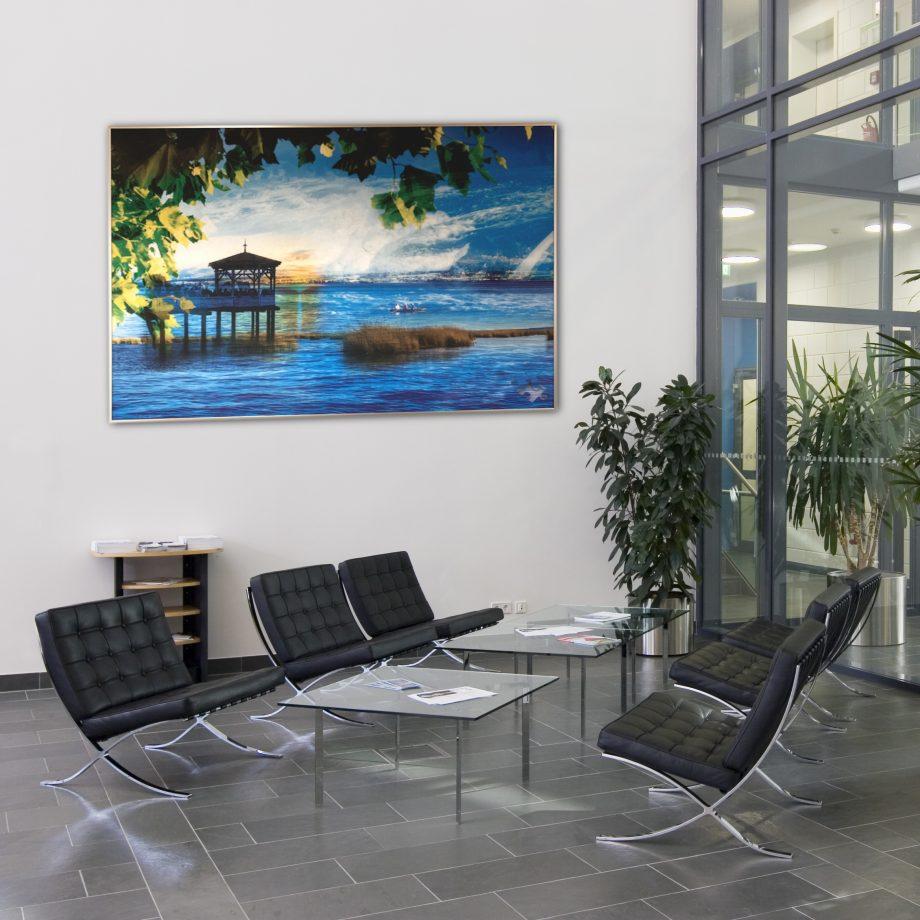 Heimat. Wasser zieht seit je her die Menschen an. Wir holen uns den See ins Haus. Ein Design Mood für eine Kundschaft in Bregenz, AM SEE.