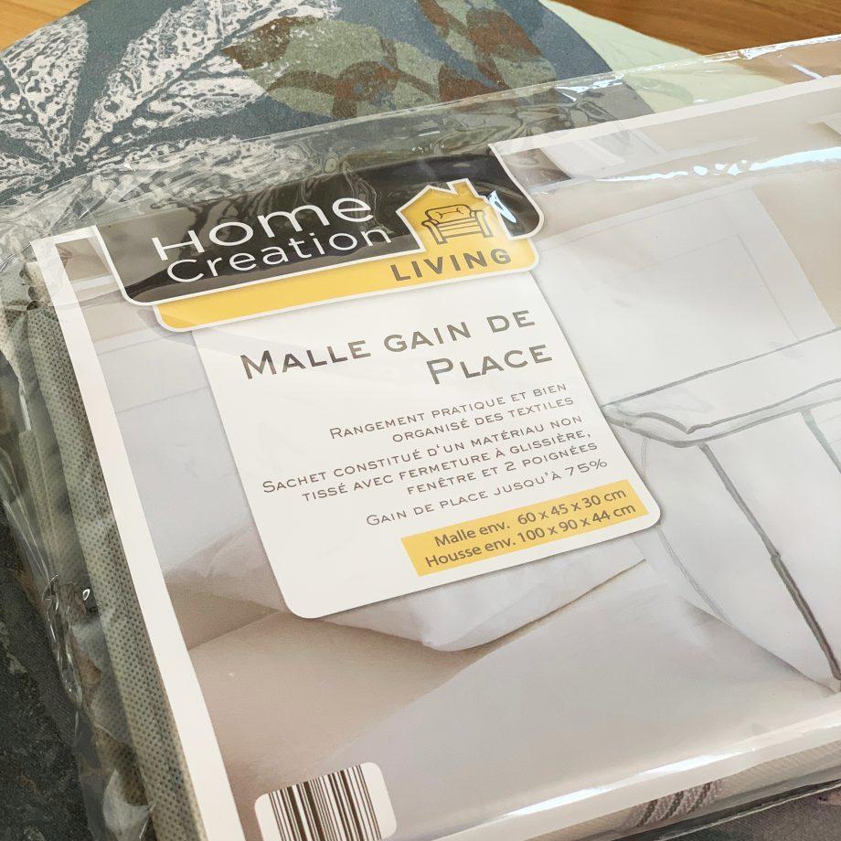 Praktisch. Home creation für Frankreich. Einleger-Design mit schönem Produktbild nach Styleguide-Vorgaben.